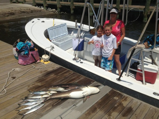 Fishing Report 7/18/13